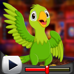 G4K Adorable Parrot Escap…