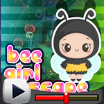G4K Bee Girl Escape Game Walkthrough