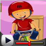 G4k Bicycle Rider Rescue Game Walkthrough