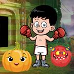 G4K Boxing Boy Escape Gam…