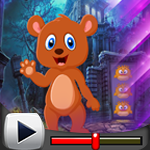 G4K Cartoon Brown Bear Es…