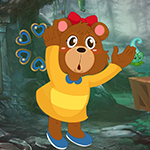 G4K Cute Cartoon Bear Esc…