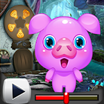 G4K Cute Pig Rescue Game …