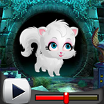 G4K Cute White Cat Rescue 2018 Game Walkthrough