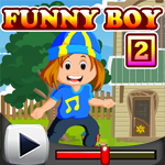 G4K Funny Boy Rescue 2 Game Walkthrough