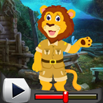 G4K Funny Lion Rescue Game Walkthrough