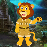G4K Funny Lion Rescue Game