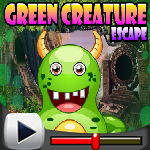 G4K Green Creature Escape Game Walkthrough
