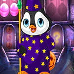 G4K Magician Penguin Escape Game