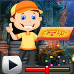 G4K Pizza Delivery Boy Rescue Game Walkthrough