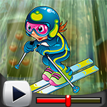 G4K Skillful Skier Escape…