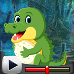 G4K Tiny Crocodile Escape…