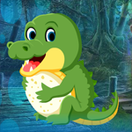G4K Tiny Crocodile Escape Game