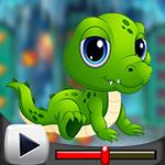 G4K Baby Crocodile Escape…