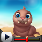 G4K Baby Walrus Escape Ga…
