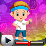 G4K Badminton Playing Boy…