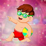 G4K Beach Ball boy Escape…