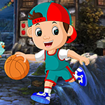 G4K Bland Basketball Player Escape Game