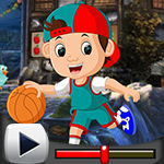 G4K Bland Basketball Player Escape Game Walkthrough