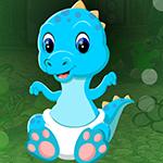 G4K Blue Baby Dinosaur Es…