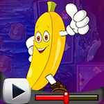 G4K Cartoon Banana Escape…