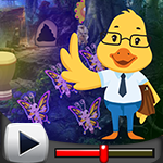 G4K Cartoon Duck Teacher …