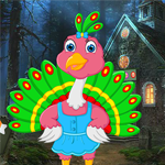 G4K Cartoon Little Peacock Escape Game