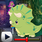 G4K Cartoon Triceratops E…