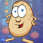 G4K Cartoon Potato Escape…