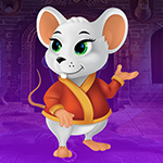 G4K Cheerful White Rat Es…