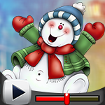G4K Chubby Snowman Escape…