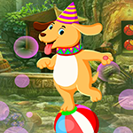 G4K Circus Dog Escape Game
