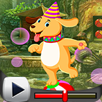 G4K Circus Dog Escape Gam…