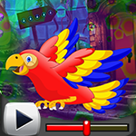 G4K Colorful Parrot Escap…
