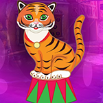 G4K Comely Circus Tiger Escape Game