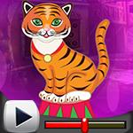 G4K Comely Circus Tiger Escape Game Walkthrough