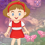 G4K Comely Little Girl Escape Game
