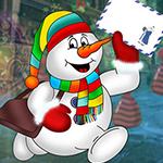 G4K Comely Snowman Escape…