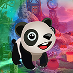 G4K Cute Baby Panda Escap…
