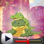 G4K Cute Crocodile Family…
