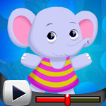 G4K Cute Elephant Escape …