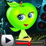 G4K Cute Green Apple Esca…