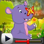 G4K Cute Hippo Calf Escape Game Walkthrough