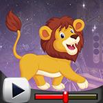 G4K Cute Lion Escape Game…