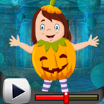 G4K Cute Pumpkin Girl Esc…
