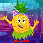 G4K Dancing Pineapple Rescue Game