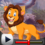 G4K Delighted Lion Escape…