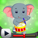 G4K Drummer Elephant Escape Game Walkthrough