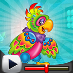 G4K Eccentric Parrot Escape Game Walkthrough