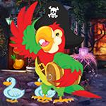 G4K Ecstatic Pirate Parrot Escape Game